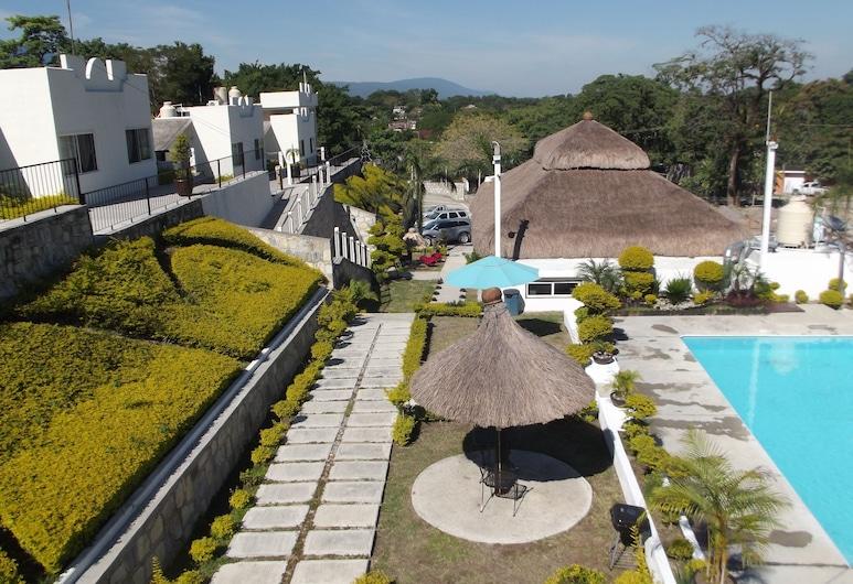 Hotel San Jose, Aquismon, Pogled na vrt