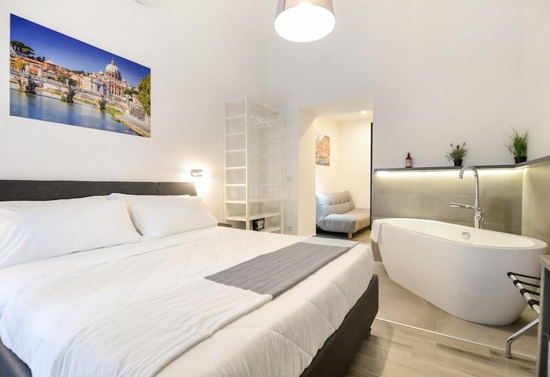 Clementi 18 Suites Rome, Rome, Suite, 1 Queen Bed, Bathtub, Guest Room