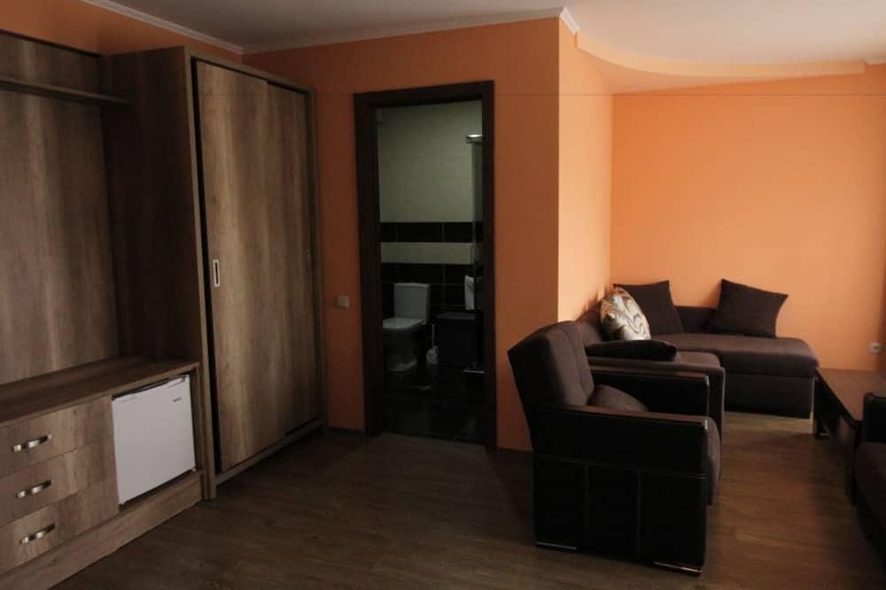 Apartmá typu Superior, balkon - Obývací prostor