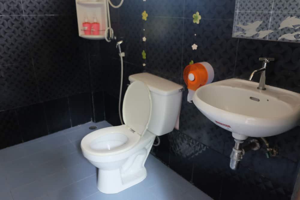 Pokoj Superior s dvojlůžkem, dvojlůžko, nekuřácký, výhled na moře - Koupelna