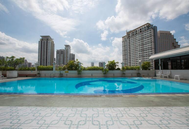 アルカ ラチャプラロプ プラトゥーナム アパートメント, バンコク, 屋外プール