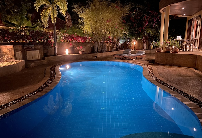 TG48 號 4 房海景可步行至海灘酒店, 蘇梅島, 泳池