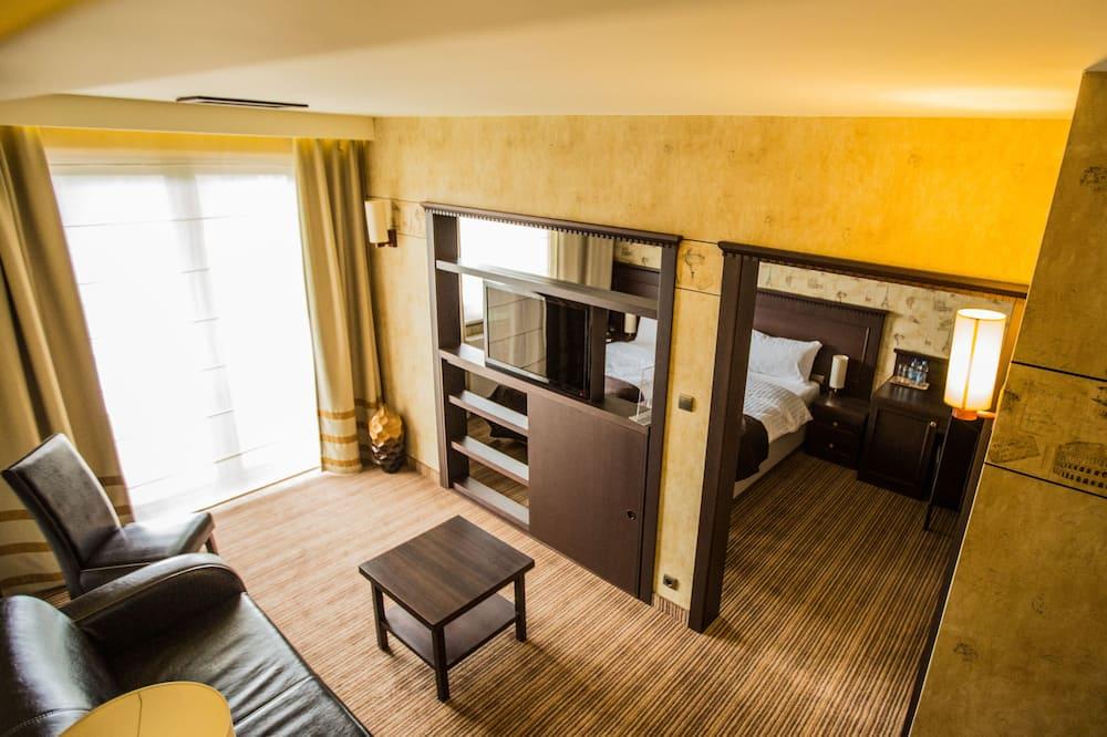 Apartment (Retro) - Living Area