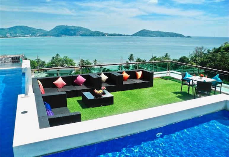 The Privilege Residence : 1 Bedroom apartment in Patong, Patong, Uima-allas katolla