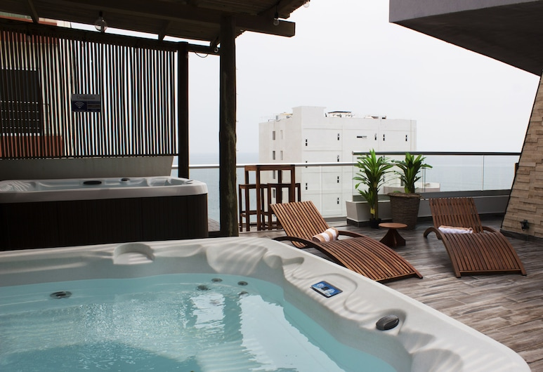 Hotel Clipperton, Boca del Rio, Outdoor Spa Tub