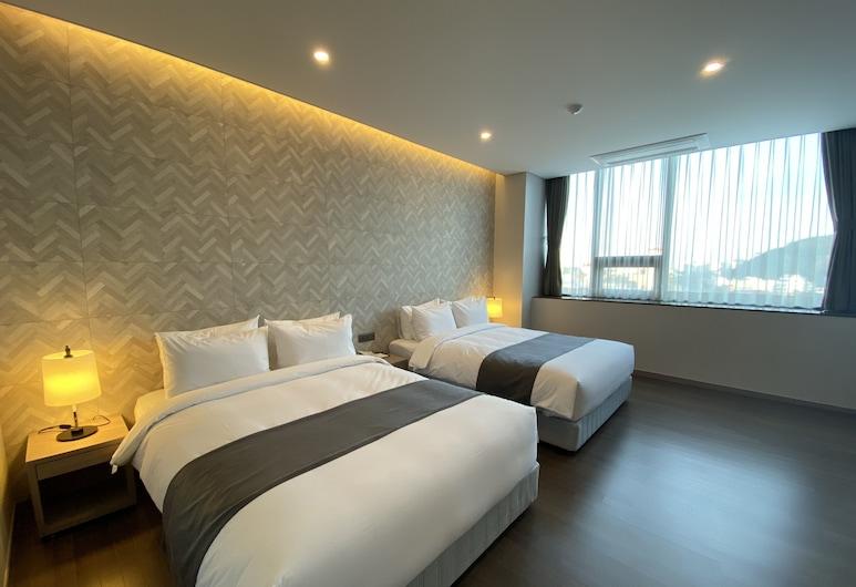 ニュー ダムシャー ホテル, トンヘ, ジュニア スイート, 部屋
