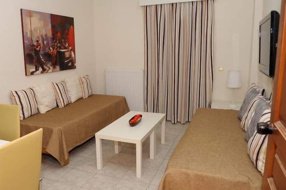 アパートメント 1 ベッドルーム (4 Adults) - リビング エリア