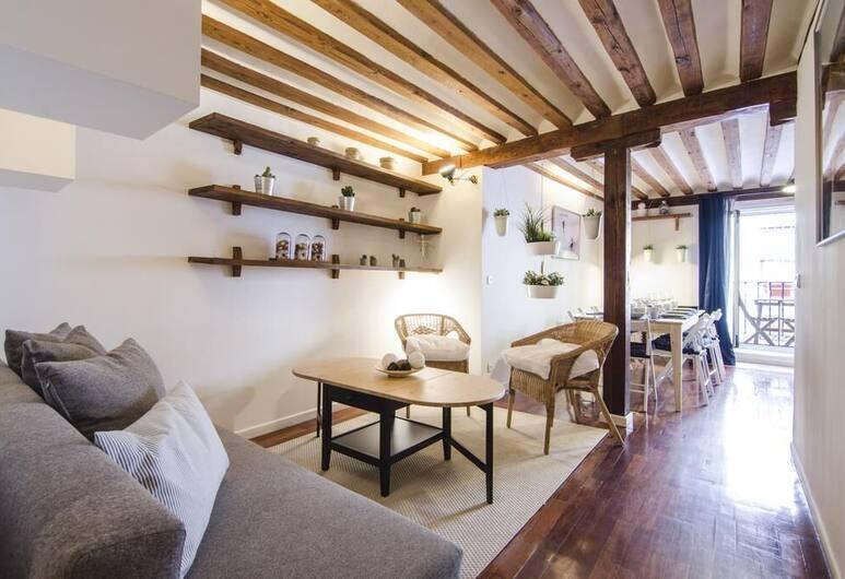 Lollipop Flats City Centre Royal Suite, Madrid, Apartment, 2Schlafzimmer, Balkon, Wohnbereich