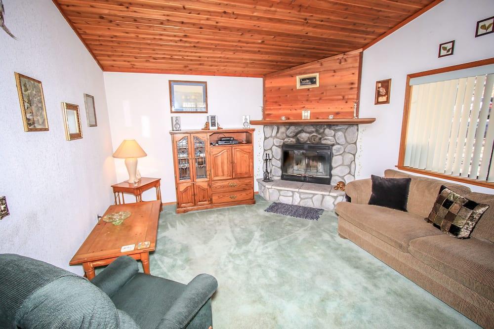 Domek wypoczynkowy, 2 sypialnie - Powierzchnia mieszkalna