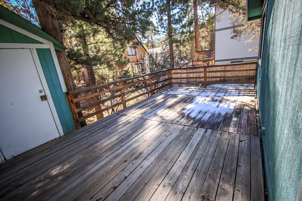 Domek wypoczynkowy, 2 sypialnie - Taras/patio