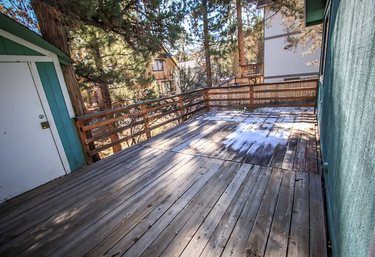 Sugarloaf Mountain View 2 Bedroom Cabin, Big Bear, Kabin, 2 kamar tidur, Teras/Patio