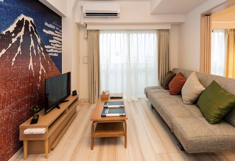 Voga Corte Chidoricho, Tokyo, Superior Apartment, Living Room
