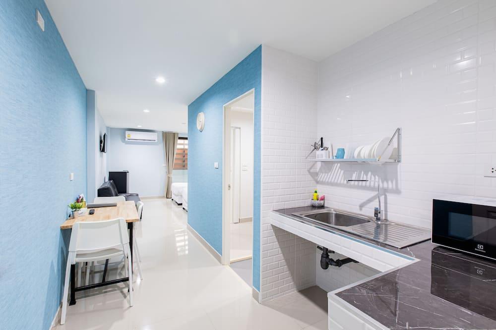 ห้องซูพีเรียสวีท, 1 ห้องนอน - มุมทำครัวในห้องพัก