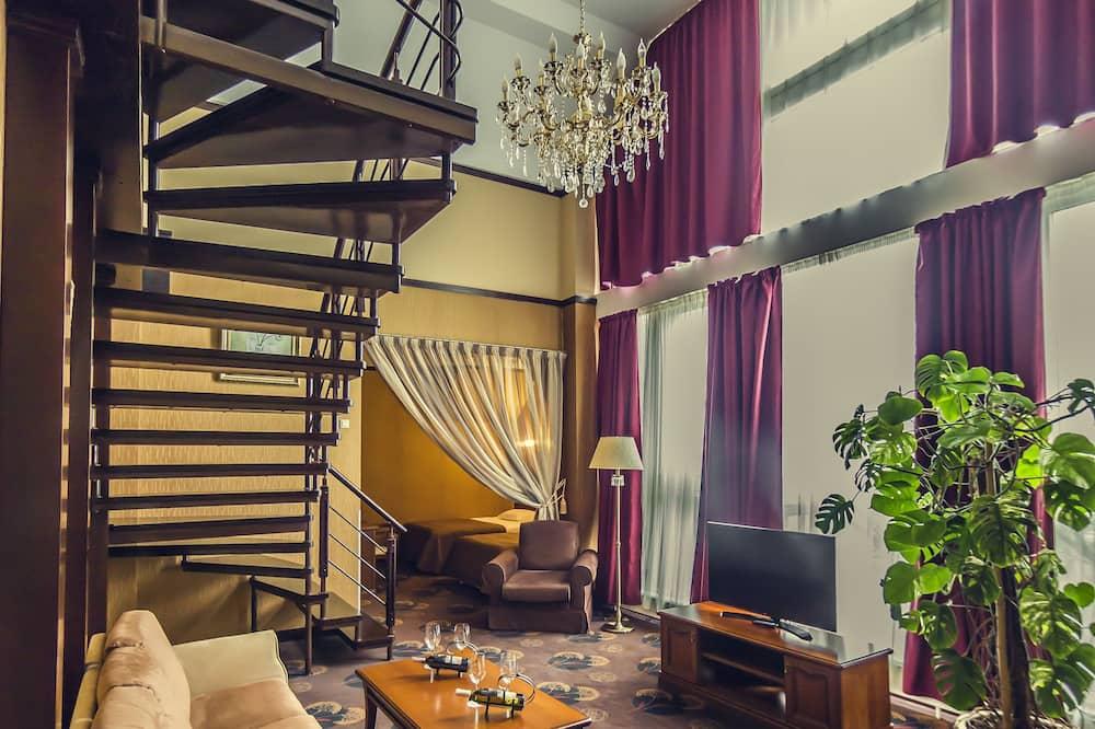 Phòng Suite Presidential - Khu phòng khách