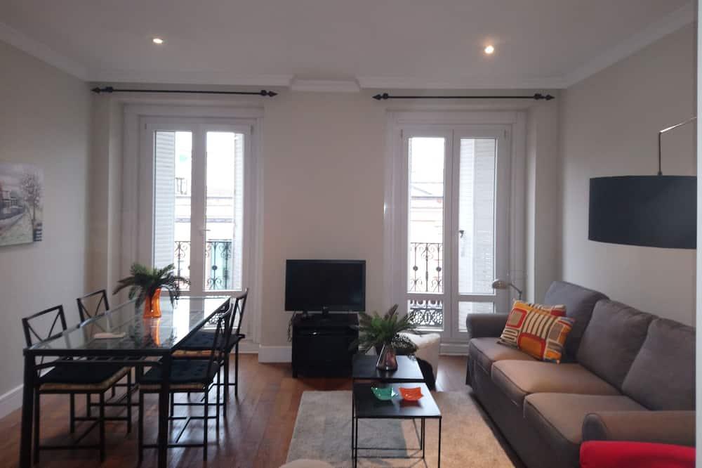 公寓, 1 間臥室, 城市景 - 客廳