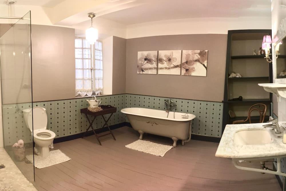 四人房, 共用浴室, 公園景 - 浴室
