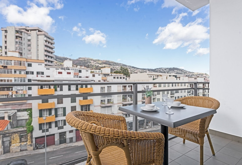 Santa Catarina I by An Island Apart, Funchal, Appartement, 1 chambre, terrasse, vue océan, Terrasse/Patio