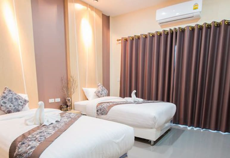 The Tide Resort, Накхонситхаммарат, Номер с 2 односпальными кроватями, Номер