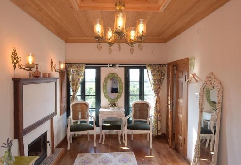 Sirince Ilya Konak, Selcuk, Deluxe Room, 1 Bedroom, Mountain View, Living Area