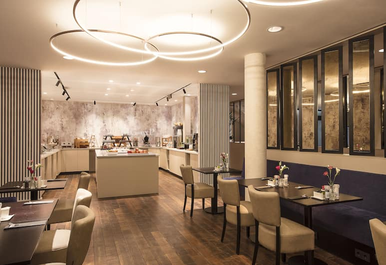 Monet Garden Hotel Amsterdam, אמסטרדם, אזור ארוחת הבוקר
