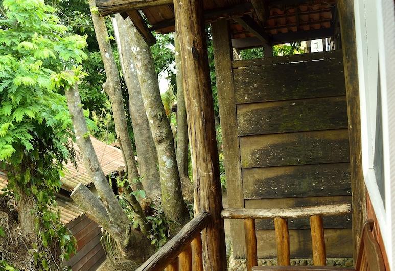 Pousada Água Cristalina, Cachoeiras de Macacu, Deluxe soba, Balkon