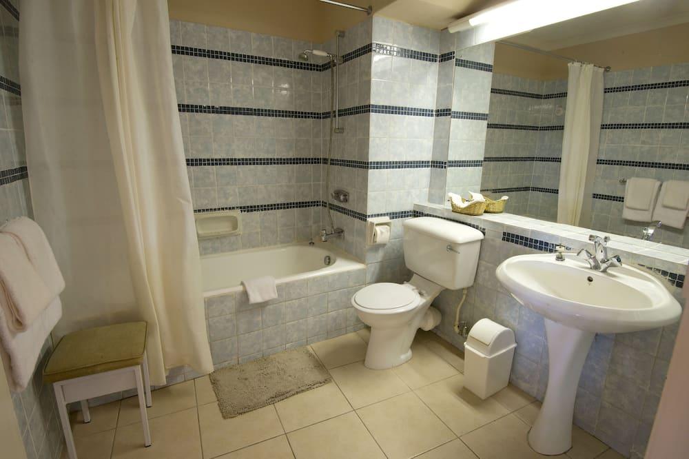 Номер-люкс із покращеним обслуговуванням (2 pax) - Ванна кімната