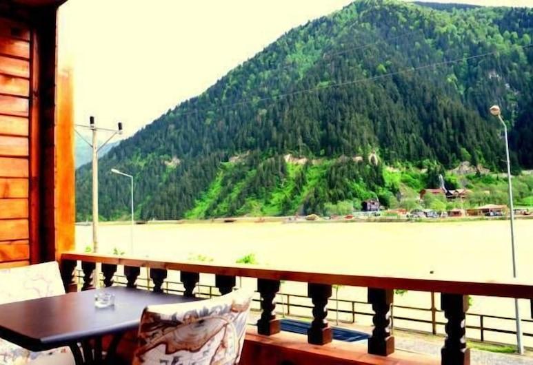 Doğa Motel, Çaykara, Doppia Deluxe, vista lago, Balcone
