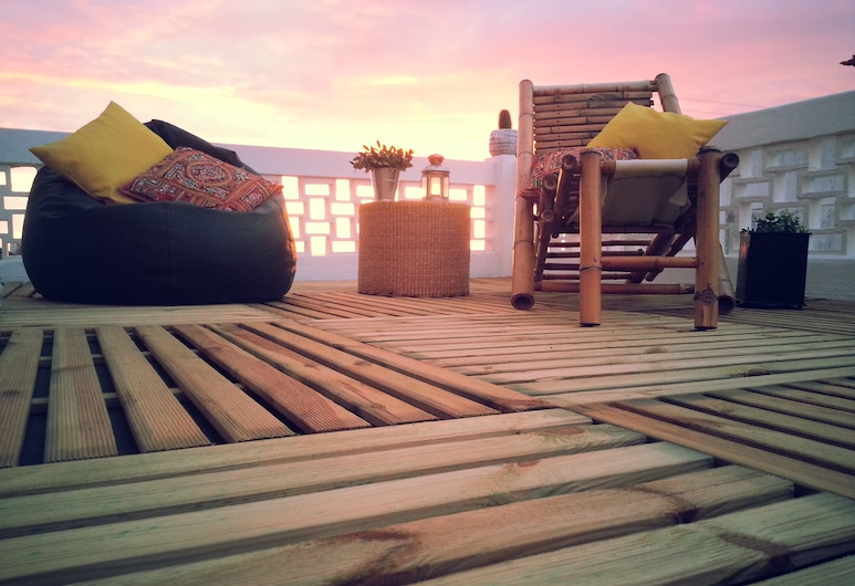 Nesha Surf Flat Ericeira Center, Mafra, ลานระเบียง/นอกชาน