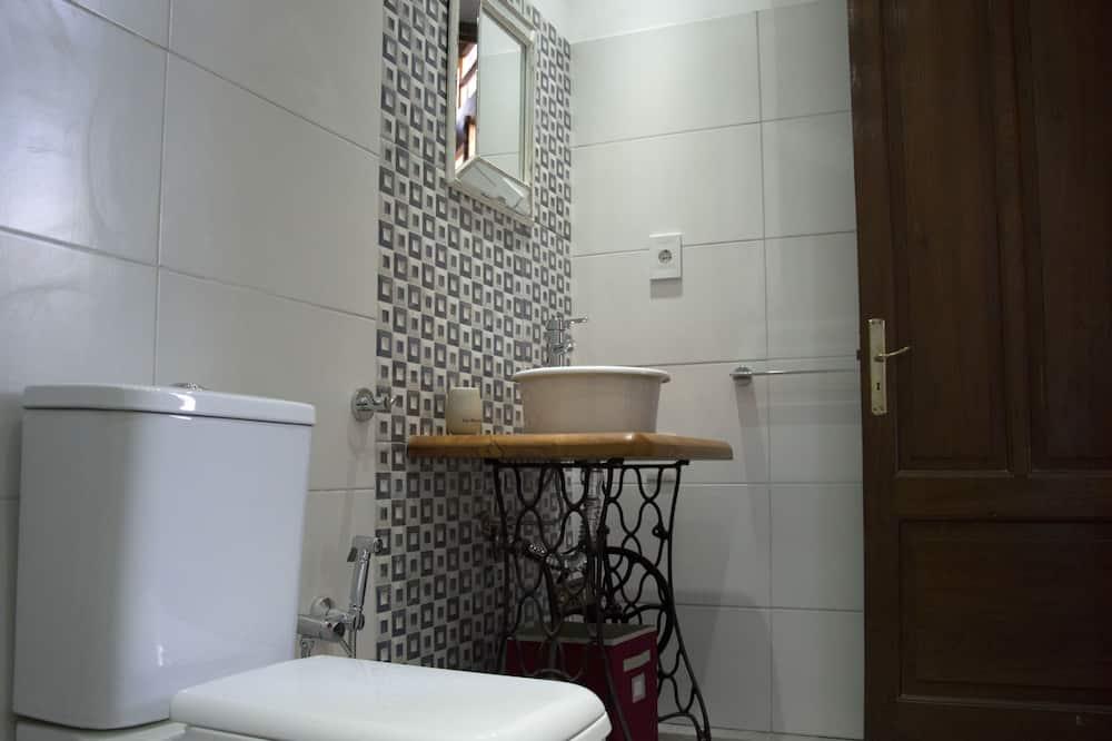 ダブルルーム ダブルベッド 1 台 エンスイート - バスルーム