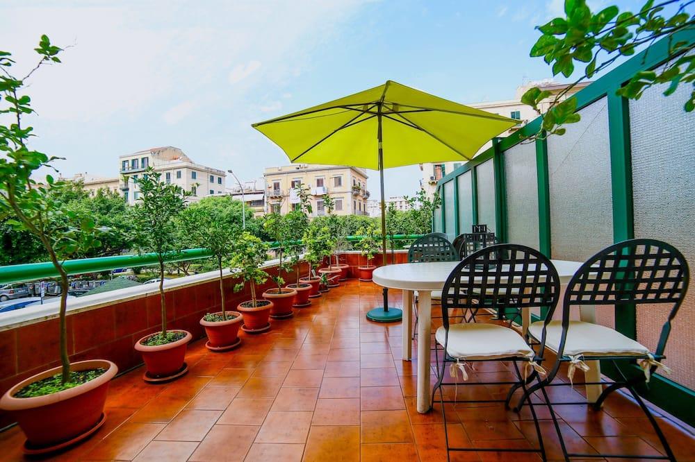 Apartmán typu Comfort, 1 spálňa, terasa, výhľad na mesto - Vybraná fotografia