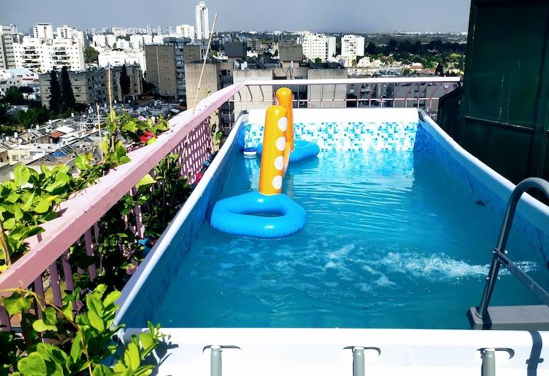 Avi's place, Tel Aviv, Apartmán, 2 ložnice, výhled na město, Soukromý bazén