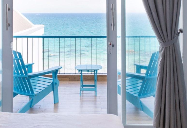 藍錨旅館與咖啡廳 - 平巴島, 坎蘭, 客房 (Captain,Seaview), 露台