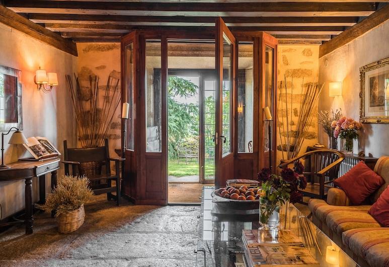 卡萨阿里巴旅馆, 南瓦然德德哥多司, 双人房/双床房, 私人浴室, 山景, 大堂