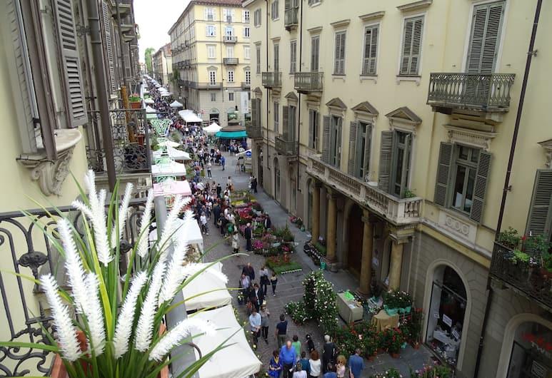 B&B Torino D'epoca, Torino, Camera Basic con letto matrimoniale o 2 letti singoli, vista città, Balcone