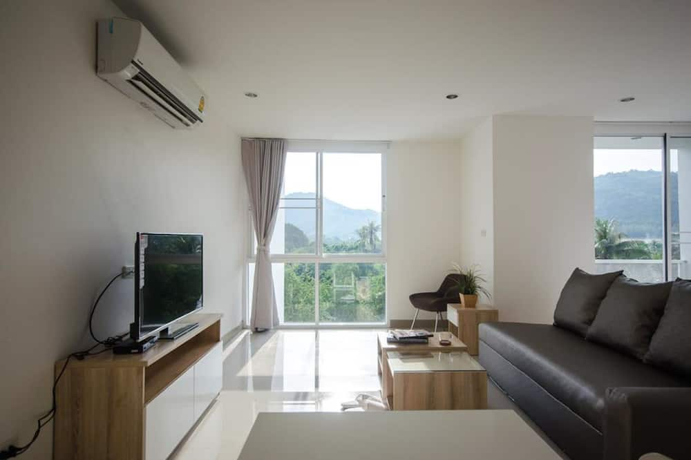 Suite with Mountain View  - Dnevni boravak