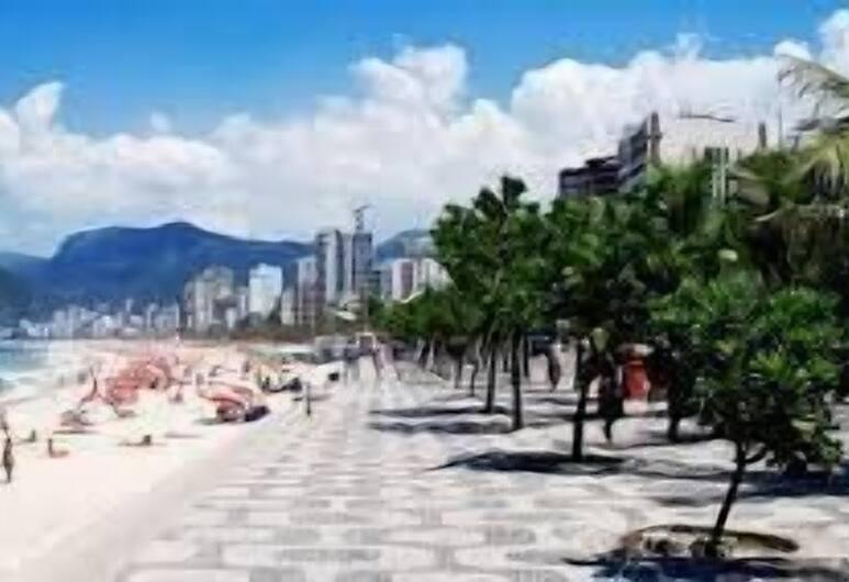 파르치쿨라 아파트먼트 앳 호텔, 리우데자네이루, 해변