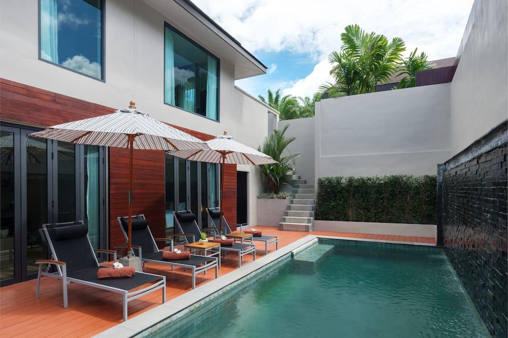 Two Bedrooms Pool Villa-Duplex - Ulkouima-allas