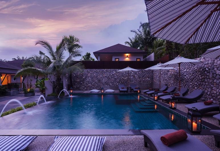 De Malee Pool Villas, Krabi, Buitenzwembad