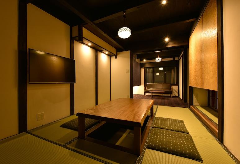 Kuraya Marikoji, Kyoto, Private Vacation Home, Living Room