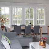 Villa clásica, 3 habitaciones, sauna, vista a la playa - Sala de estar