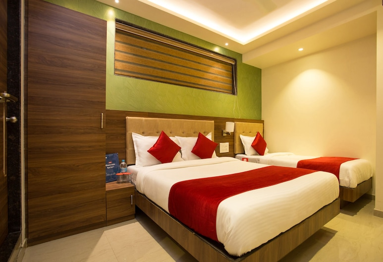 OYO 7154 Hotel Highland Residency, Thane, Standard dubbelrum eller tvåbäddsrum, Gästrum