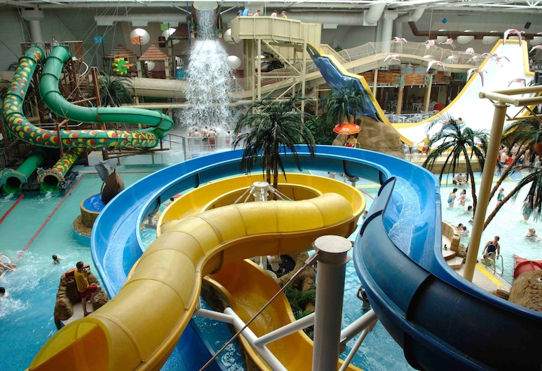 Pleasure Holiday Apartments, Blackpool, Water Park