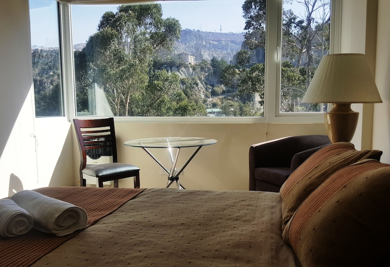Midtown La Paz, La Paz, Dobbeltrom – executive, 1 queensize-seng, Utsikt fra gjesterommet