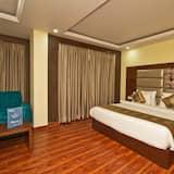 Standard szoba kétszemélyes vagy két külön ággyal, 1 kétszemélyes ágy, privát fürdőszoba - Vendégszoba