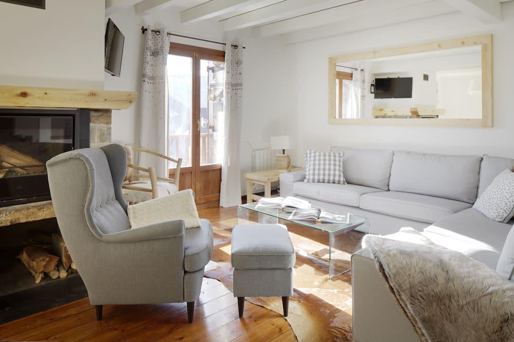 Apartment, 3Schlafzimmer, Balkon - Wohnzimmer