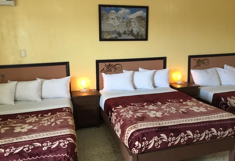 Hotel del Centro, Córdoba, Quarto Triplo Clássico, várias camas, Quarto