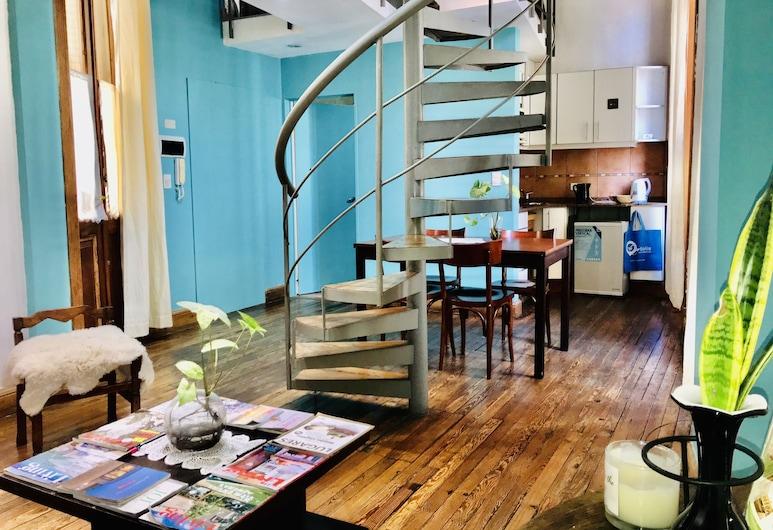 La Casona del Alma, Buenos Aires, Duplex, Balcony (5 people), Living Area