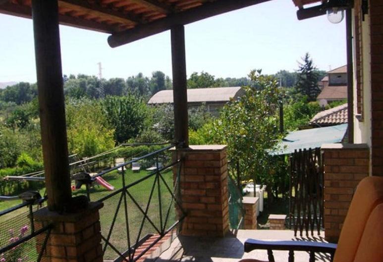 Country House l'Aia, Casal Velino, Monolocale, Letti multipli, vista giardino (Achillea), Terrazza/Patio