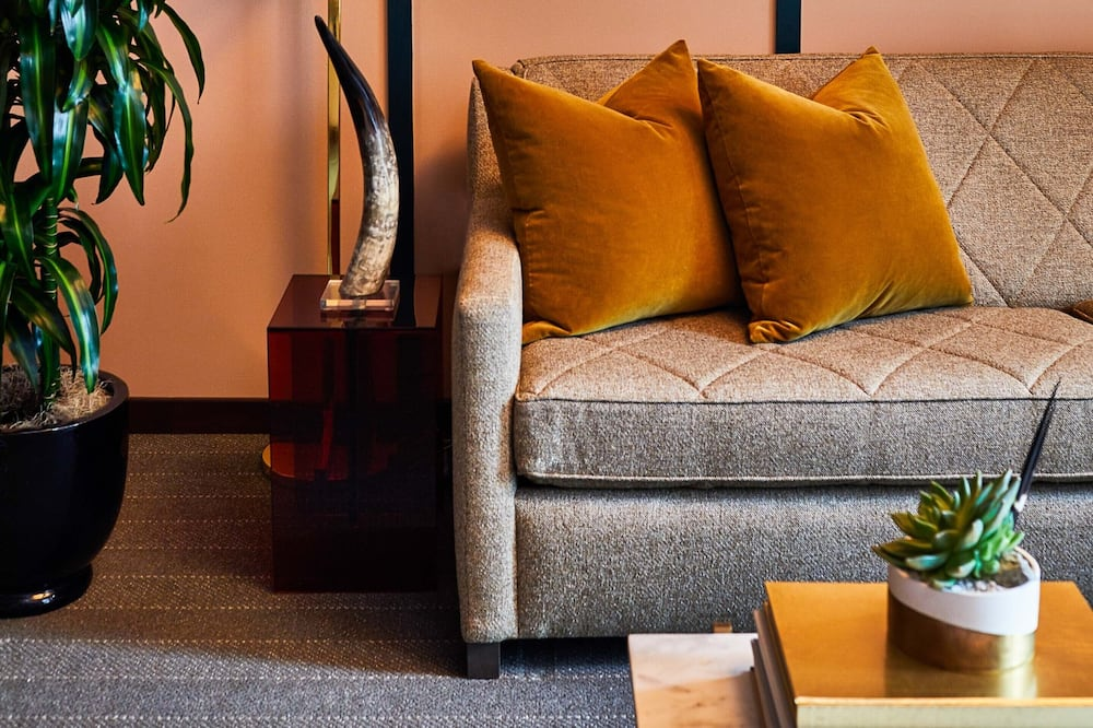 Suite, 1 king size krevet, pristup za osobe s invalidnošću - Dnevna soba