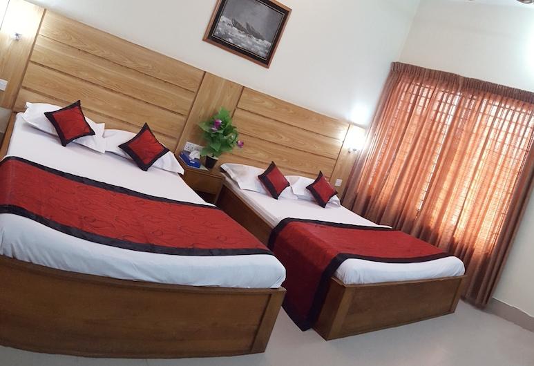 Hotel Supreme, Sylhet, Habitación doble familiar, 2 camas dobles, con acceso para silla de ruedas, vista a la ciudad, Habitación